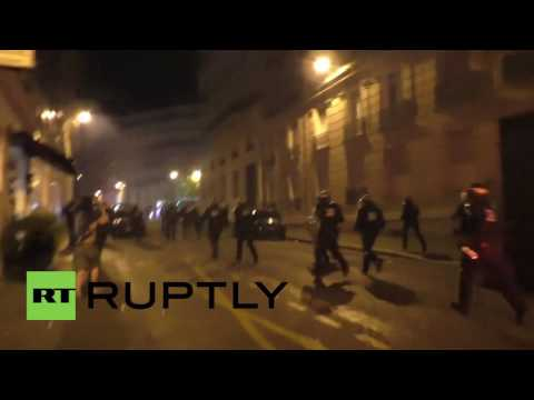 France: Paris BURNS as clashes erupt following Euro defeat
