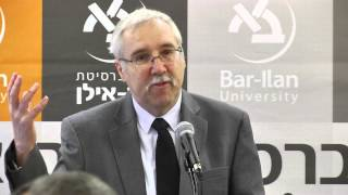 Greetings - Event Moderator Prof. Gerald Steinberg