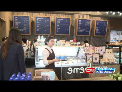 UBS City News Caffe Bene Mongolia Grand Opening