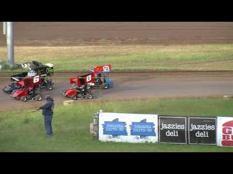 6 10 16 Cottage Grove Speedway  Pee Wee Karts