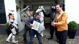 Dutch Garrison: Star Wars Main Theme Dancing Troopers =p