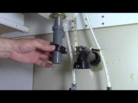 how to fix a clogged bathroom sink drain youtube