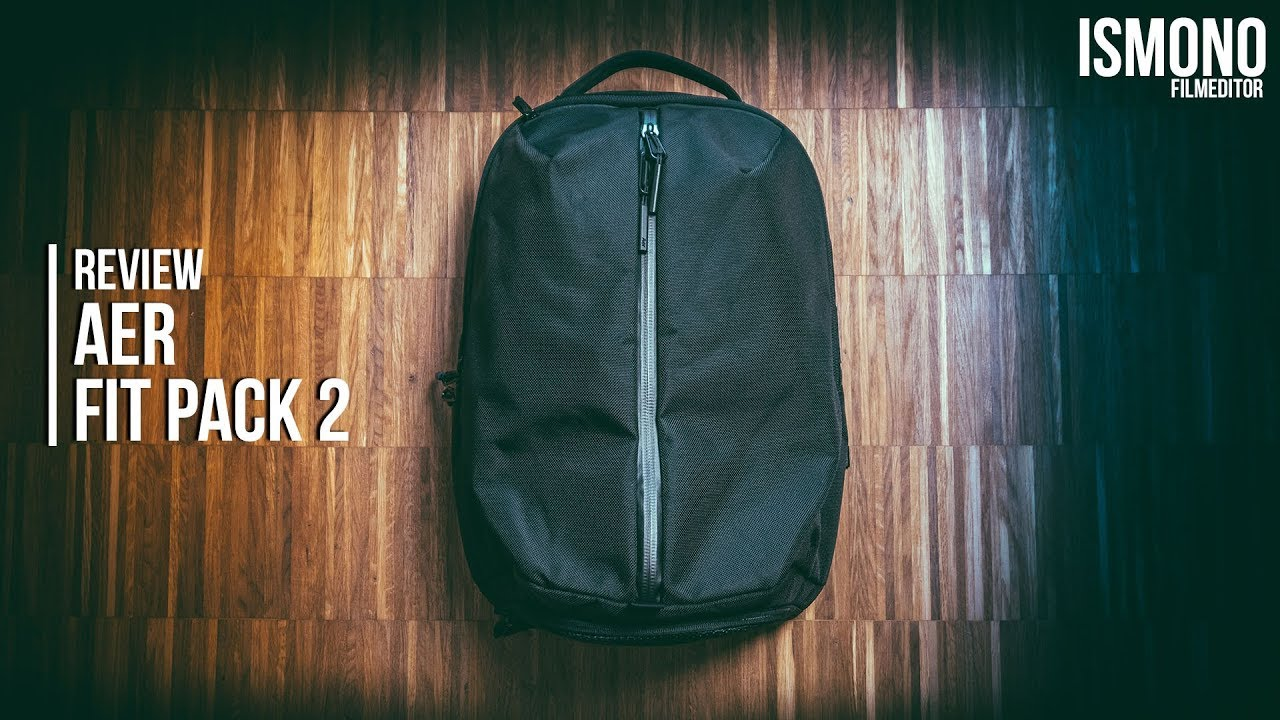 b43bdf0c7d56ee Best Work   Gym Backpack  REVIEW AER Fitpack 2 - YouTube