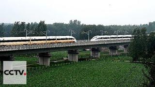Високошвидкісні потяги у Китаї встановили новий світовий рекорд