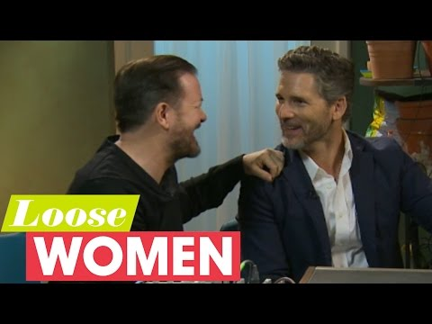 Ricky Gervais And Eric Bana Interview Interrupted By Andrea's Hair Appointment Alert | Loose Women