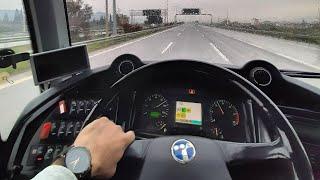 Temsa Safir ile son Seyahatim | çalışırken tatil yapak ( YouTube Bus Vlog )