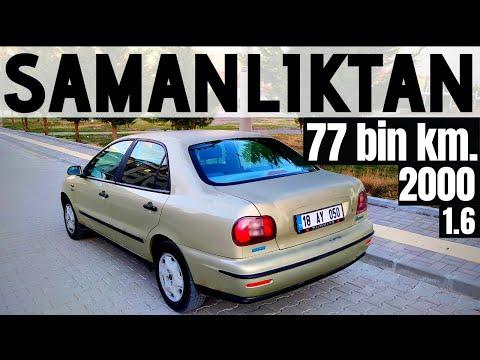 SAMANLIKTAN ÇIKTI !!! ORİJİNAL 77 BİN KM'DE | 2000 FİAT MAREA | 0-100 | BOL GAZLAMA İÇERİR !!!