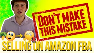 How to not lose money on Amazon! (Don't make this MISTAKE)