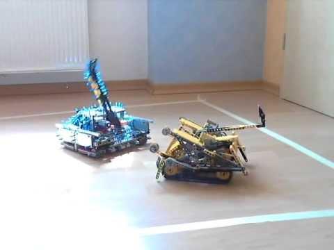 LEGO Mindstorms NXT vs  LEGO Technic RC ( FOLGE 1 )