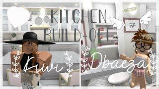 ROBLOX | Bloxburg : Kitchen Build-Off! ( Tour )