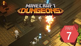"Minecraft Dungeons: Playthrough Part 7 of 9 ""Desert Temple"""
