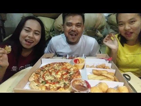 BIG BOX PIZZA HUT MUKBANG!!!