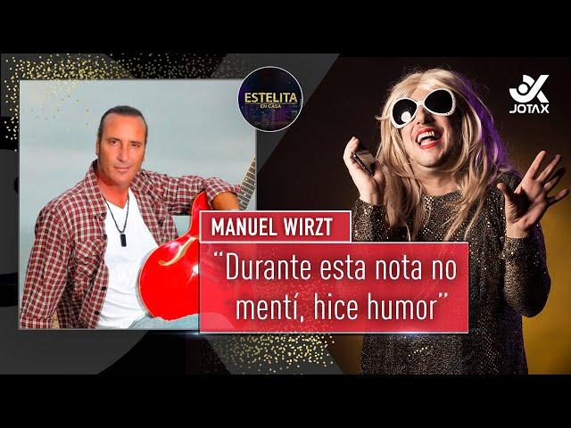 #EstelitaEnCasa🏠 con Manuel Wirzt 🔥