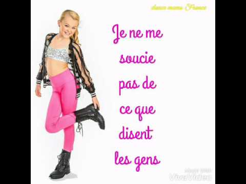Jojo siwa boomerang traduction en français