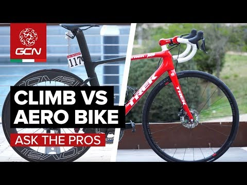 Aero Vs Climbing | What Bikes Do The Pros Favour?