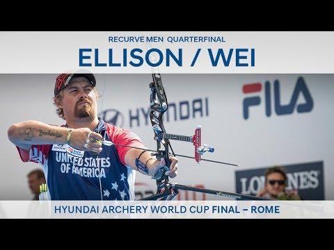 Brady Ellison V Wei Chun-Heng – Recurve Men's Quarterfinal | Rome 2017