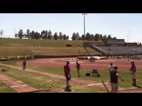 Bismarck Middle School 7th grade Long Jump