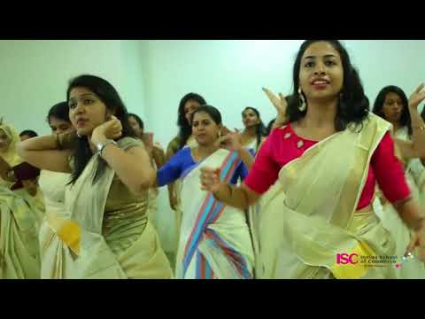 Jimikki Kammal  Dance Perfomance By Indian School Of Commerce