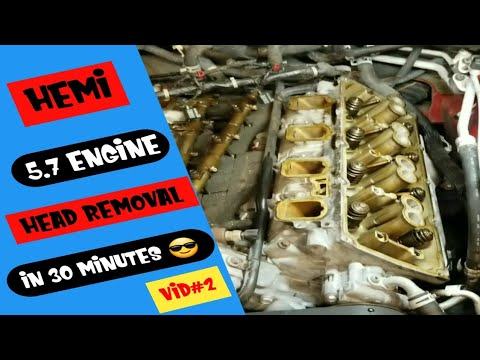How to remove any 5.7 hemi engine head in 30 minutes