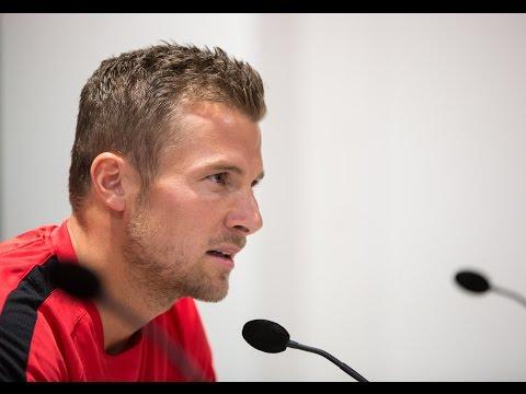 16/17 // Pressekonferenz vor Wolfsburg // Daniel Baier