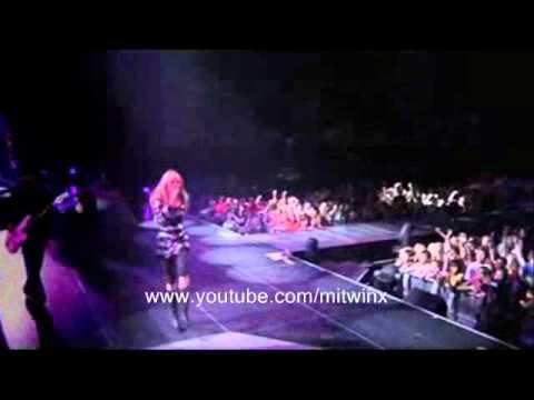 Hannah Montana - Rockstar live @ Best of both worlds concert tour DVD HQ