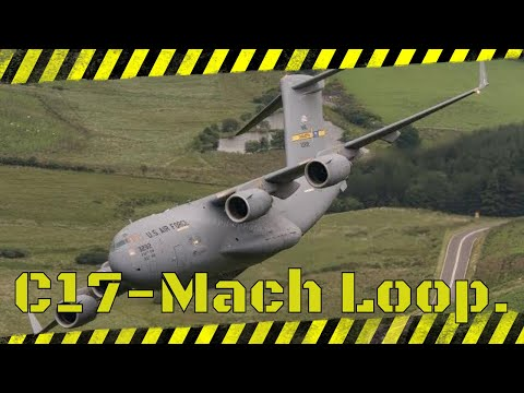 C17 in the Mach Loop 7th July 2017