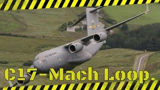 C17 in the Mach Loop 7th July 2017