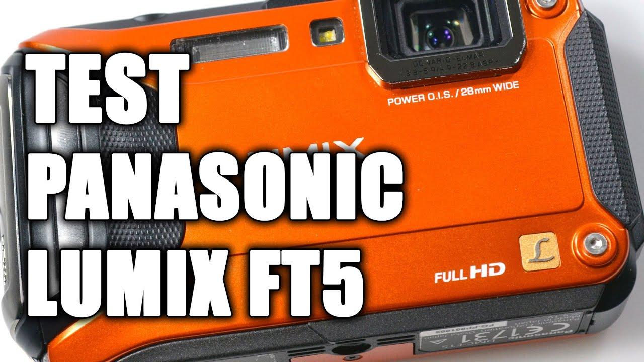 Test Panasonic Lumix FT5 - démonstration et prise en main - YouTube