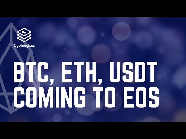 BTC, ETH, and USDT are coming to EOS thanks to DICE!