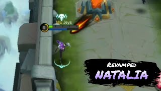 Fast Kill New Combo| Natalia REVAMP Montage| Build Gameplay E.3//Mobile Legends