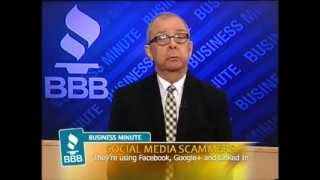 BBB Minute: Social Media Scammers