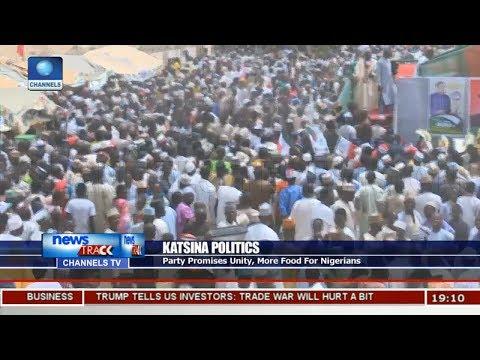 PDP Holds Mega Rally In Katsina
