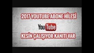 YOUTUBE ABONE - LİKE HİLESİ ABONE KASMA