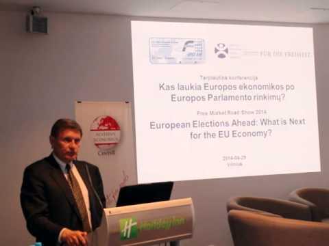 Leszek Balcerowicz - Ar norime labiau centralizuoto Europos Sąjungos finansų sektoriaus reguliavimo?