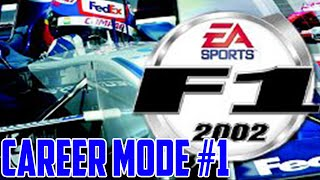F1 2002 -  Career Mode #1 | Crashes...