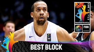Puerto Rico v Argentina - Best Block - 2014 FIBA Basketball World Cup
