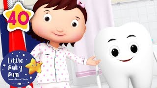 Brush Your Teeth | +More Nursery Rhymes & Kids Songs | Learn with Little Baby Bum