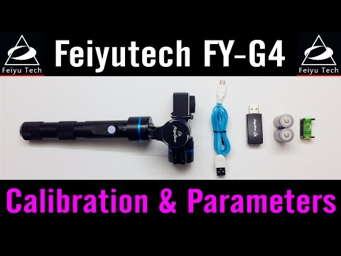 Feiyu-Tech FY-G4 #5 Calibration Parameters How To Use Settings Software Tutorial GoPro Hero4