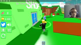 I FINISHED THE GAME IN 30 MINUTES! (MELON SIMULATOR)-Roblox-ASSURDO