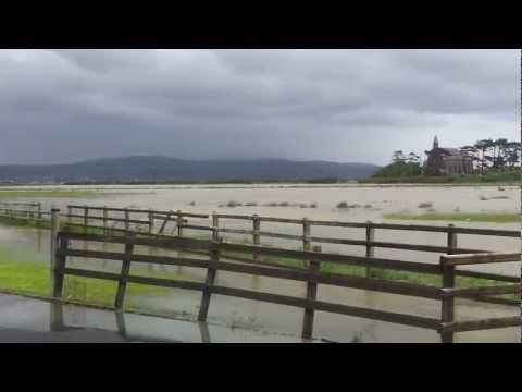 Borth flooding 2012