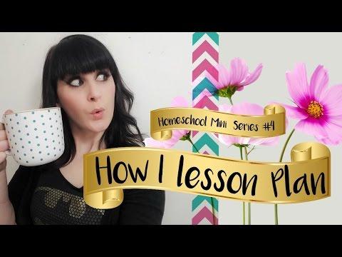 How I Lesson Plan || Homeschool Curriculum Planning || Homeschool Mini Series #4