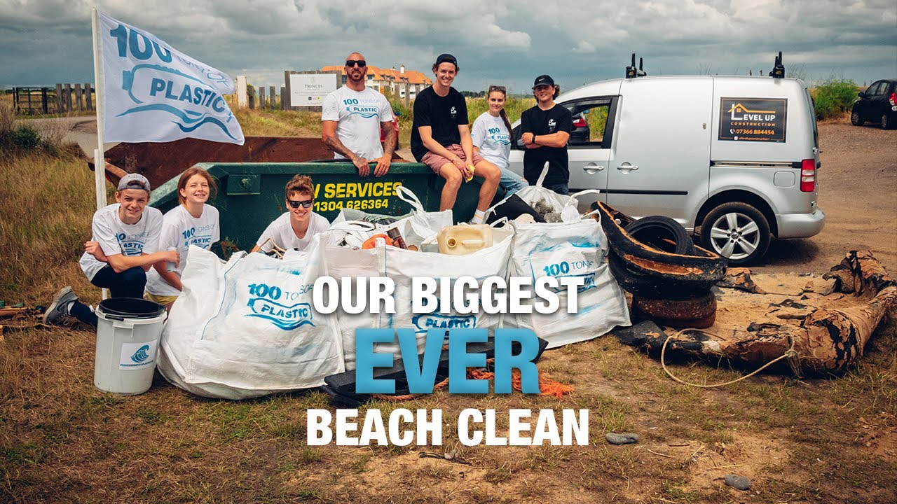 OUR BIGGEST EVER BEACH CLEAN