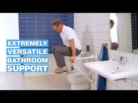 Mobeli Provides Versatile Bathroom Support For Seniors And Disabled