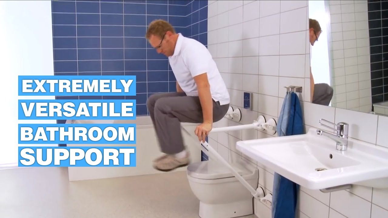 Mobeli Provides Versatile Bathroom Support For Seniors And Disabled - Best flooring for seniors