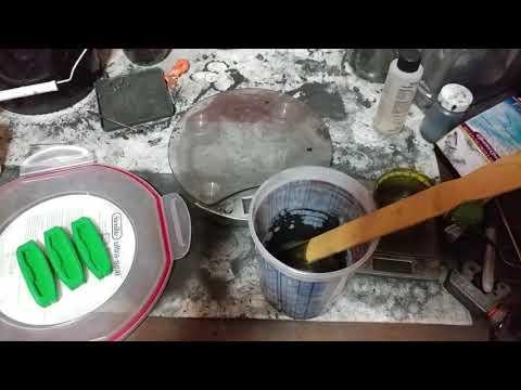 Graphene in resin (pt 1)