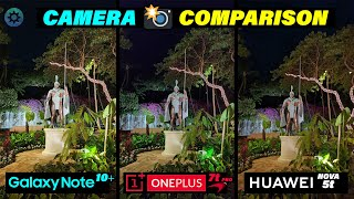 Oneplus 7t Pro Mclaren Edition Vs Note 10 Plus Vs Huawei Nova 5T - Camera Comparison