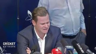 Tearful Smith says sorry over ball tampering scandal