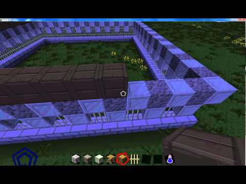 Minecraft butter division how to build a castel