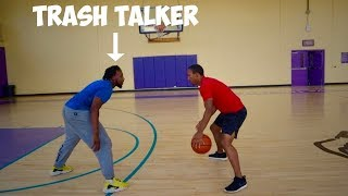 1v1 Game Of Basketball Vs Trash Talker