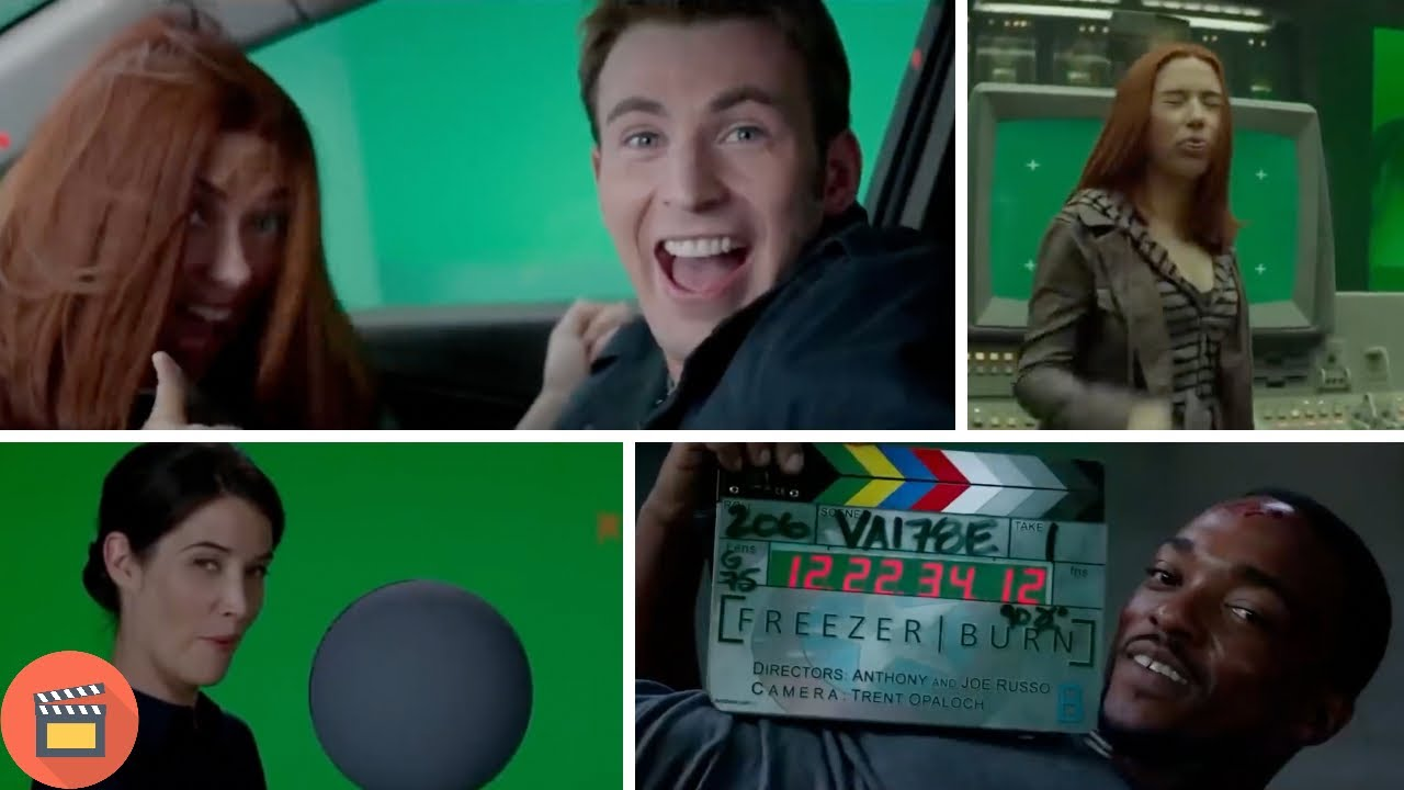 Download Captain America: The Winter Soldier BLOOPERS, GAG REEL and OUTTAKES